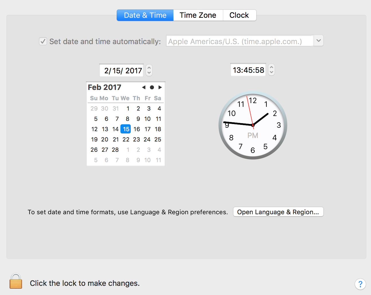 TTS Handbook - Network time sync in OS X with NTP